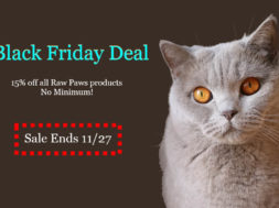 Raw Paw Pet Food Black Friday Deal