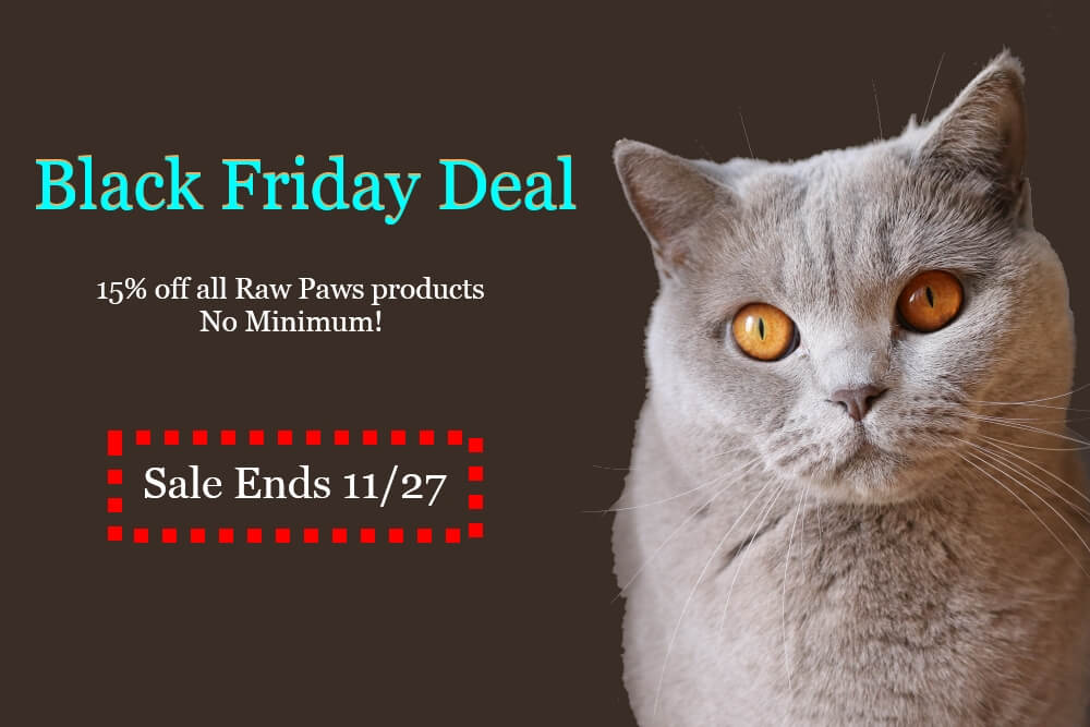 Raw Paws Pet Food: Black Friday/Cyber Monday Deal